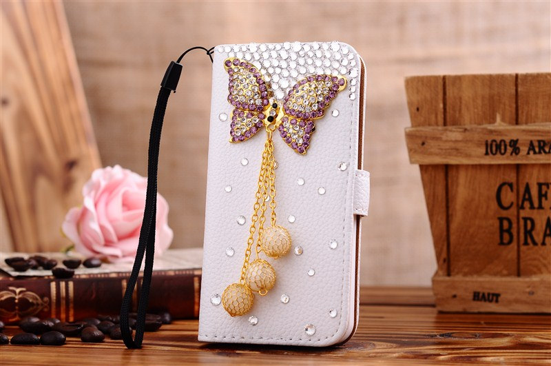 Glitter bow phone case samsung galaxy s5 s4 s3 flip case iphone 4s case  iphone 5 01d5c0feae